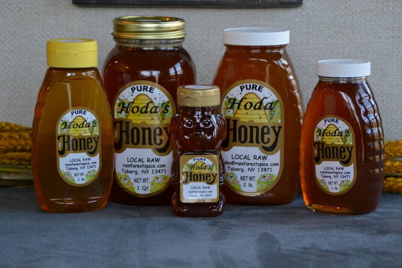 Local Honey from Hoda's Honey of Rainforest Spice Company