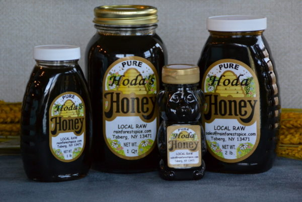 buckwheat local honey products